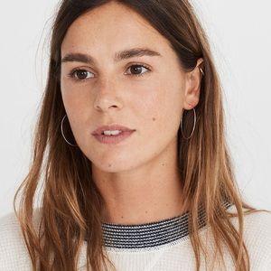 Madewell Demi-Fine 14k Gold-Filled Hoop Earrings